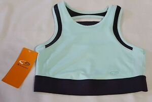 5d34d2f6bb New Womens Champion Green   Gray Workout Athletic Sports Bra Size XS ...