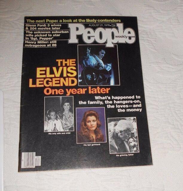 PEOPLE August 21 1978 LEGEND of ELVIS PRESLEY Ned Rorem Glenn Ford Henry Miller