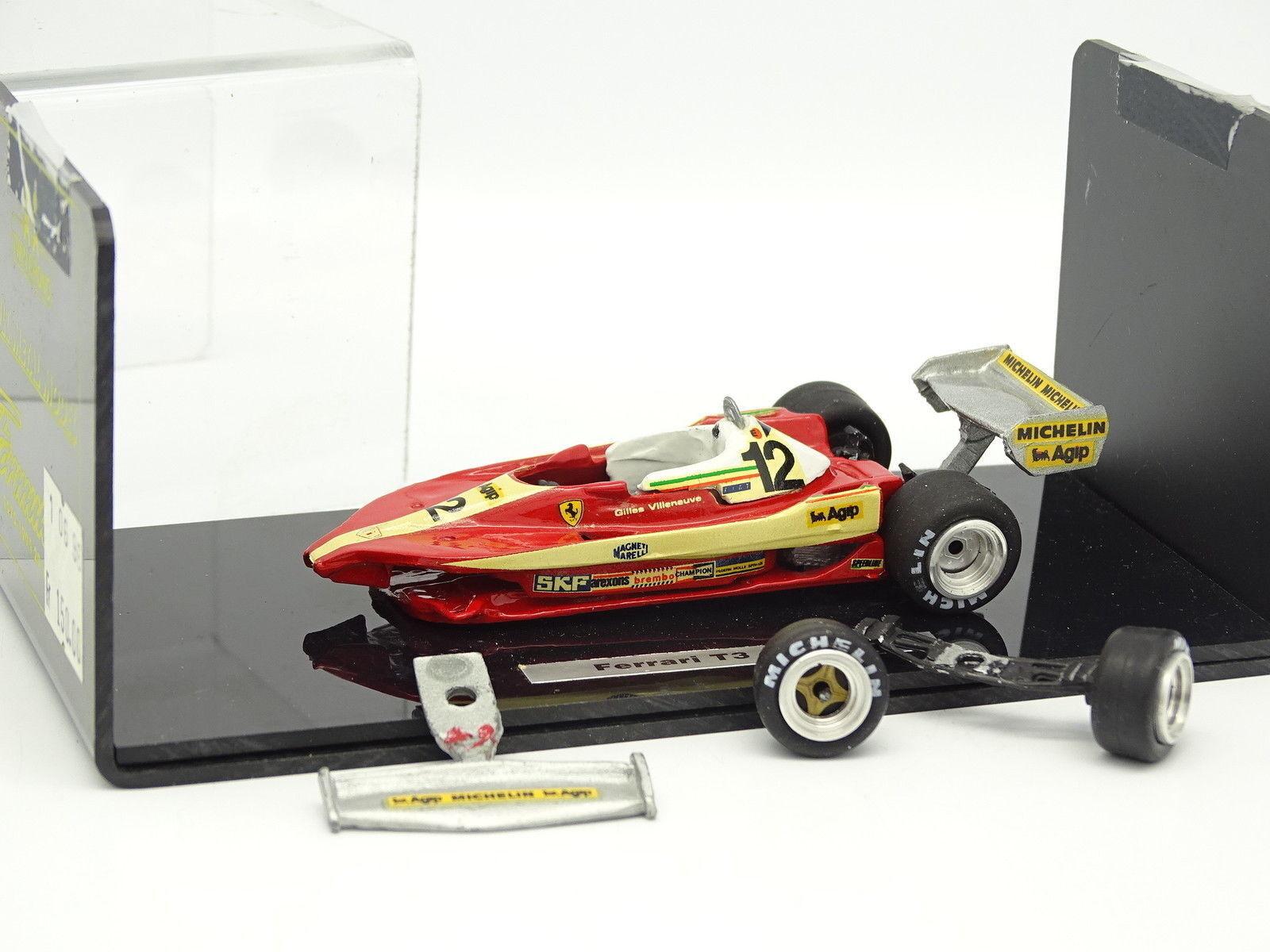 Gemello Crono Kit Montato Montato Montato 1 43 - F1 Ferrari 312 T3 Villeneuve 290714