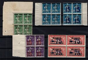 PP137610-FRENCH-MEMEL-MI-18b-20b-47-48-49-MINT-MNH-CV-125