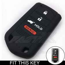 White Silicone Case Cover For Acura MDX ZDX M3N5WY8145 TL Remote Smart Key ACR4W