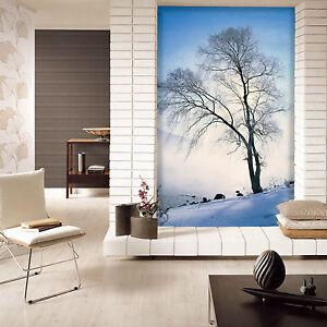 3d Arbre De Neige 3 Photo Papier Peint En Autocollant Murale Plafond Chambre Art Uu1zc2ao-07234632-574586809
