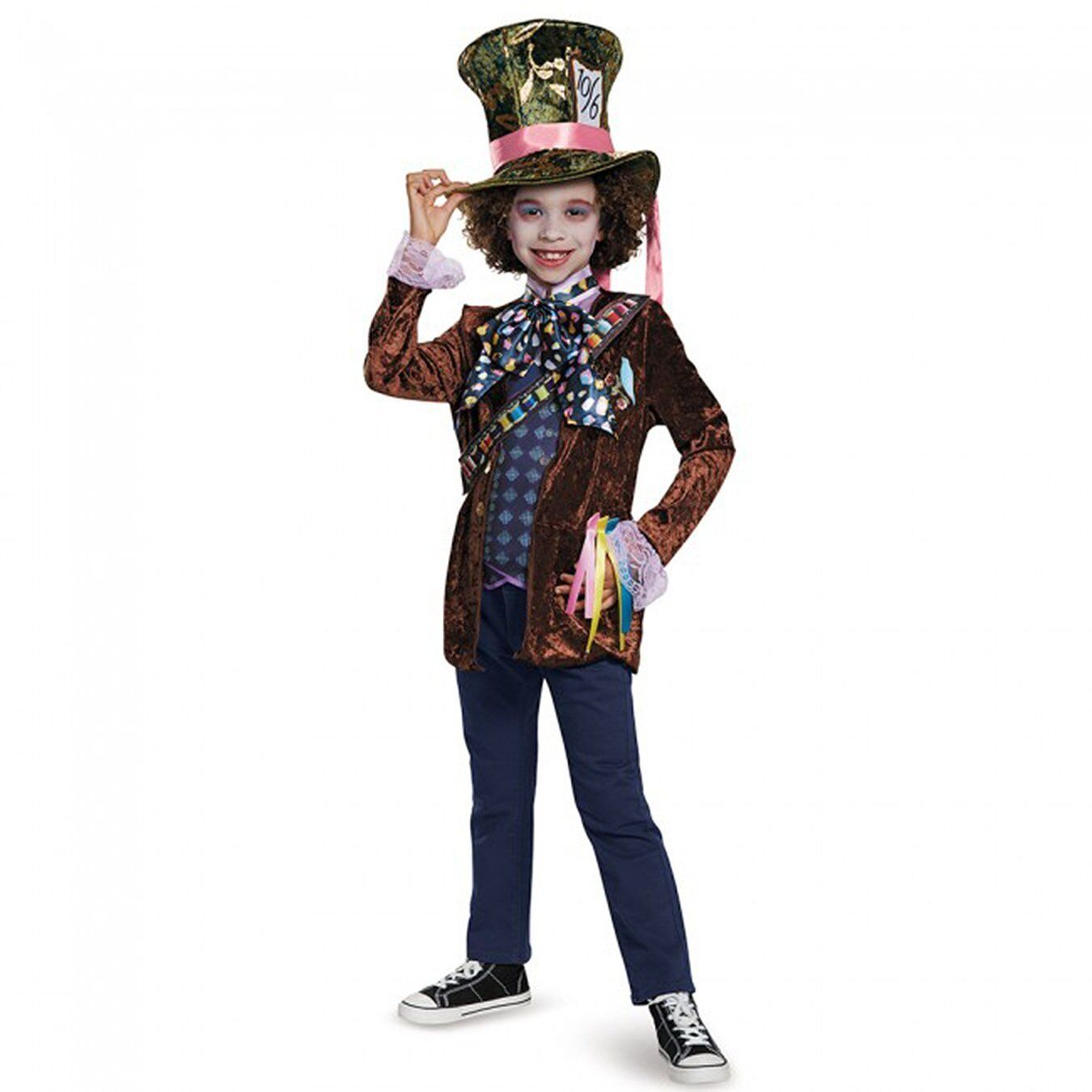 Alice Through the Looking Glass - Mad Hatter Classic Costume for Kids