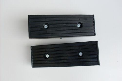 Montagekit 2 x Bootsauflage für Bootstrailer inkl Gummiauflage Langauflage