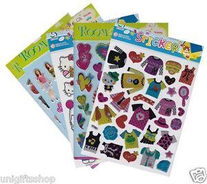 5 Mix Sheets Deco Craft Stickers, 3d Puffy Foam Sticker Scrapbooking Phone Stick