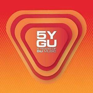 NEW-5-Years-of-Gu-Music-Mixed-Audio-CD