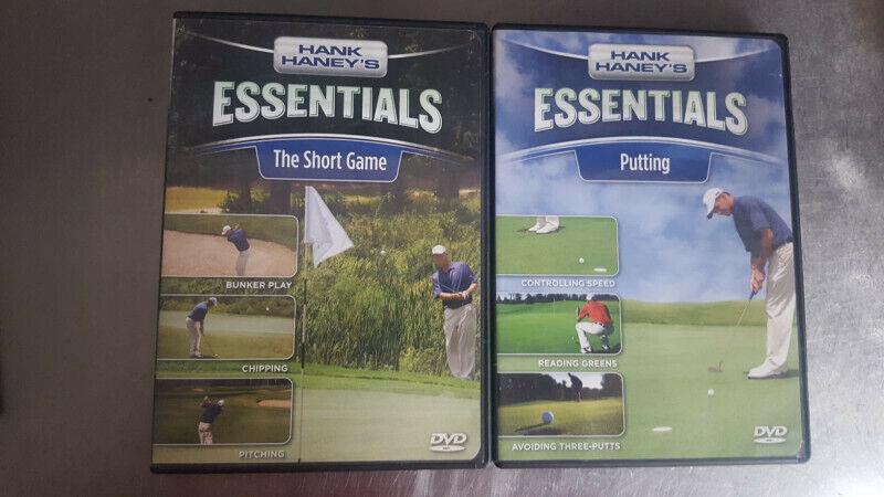 Hank Haney Golf DVDs