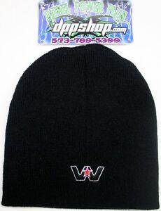 western star Beanie stocking cap semi trucker hat truck diesel gear ... 856e6cef6bd