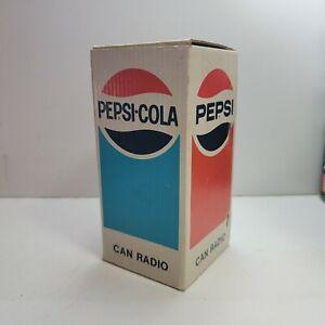 Vintage PEPSI-COLA Soda Can Radio - BRAND NEW OLD STOCK