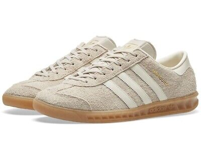 Sucio Aprendizaje grosor  Adidas Hamburg W Women Trainers in Clear Brown off White Gum BB5110 suede |  eBay