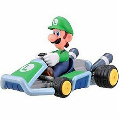 Luigi Mario Kart 7 Pullback Racer Car Figure Collection Furuta