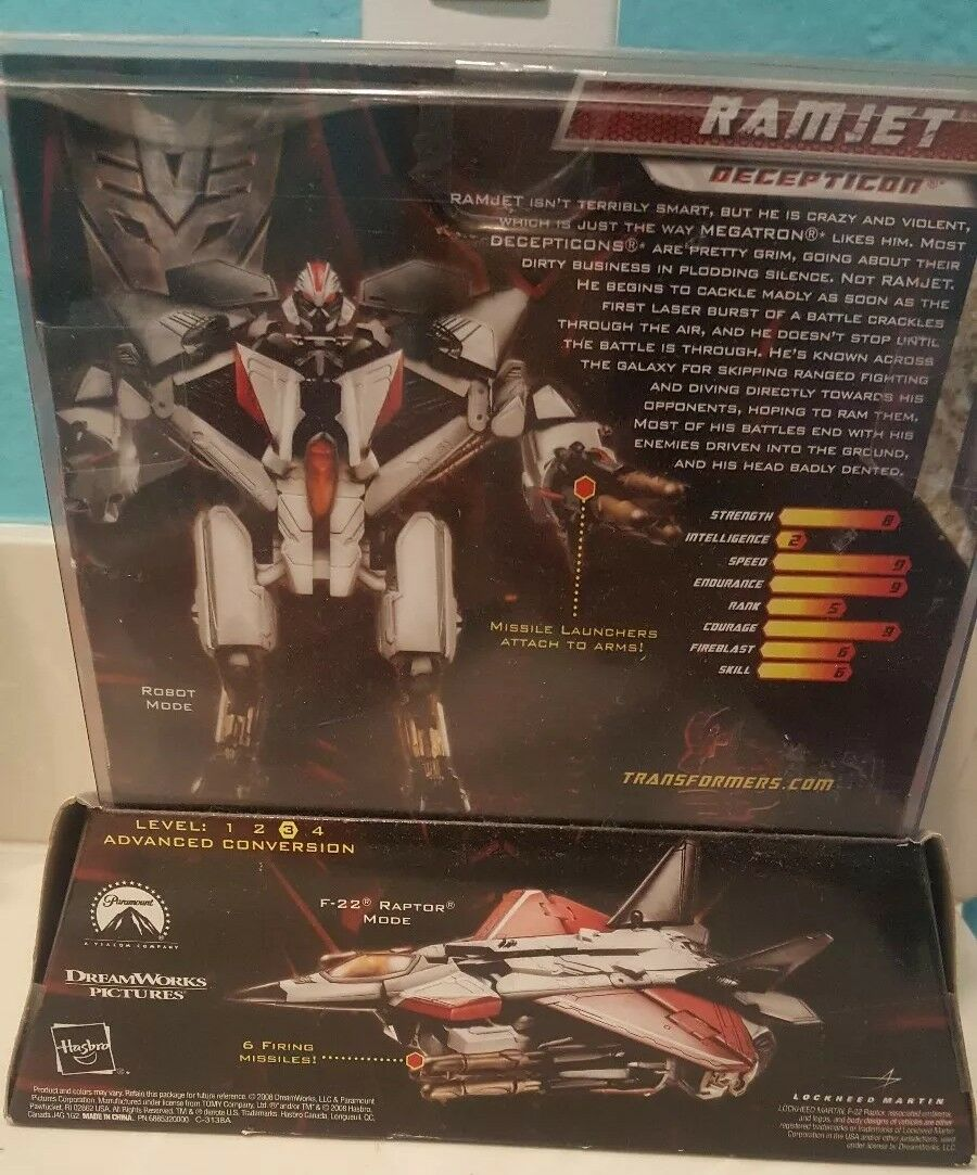 Transformers 2 2 2  Revenge of the Fallen Exclusive Action Figure Ramjet 5f818d