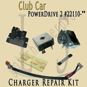 club car charger wiring diagram club image wiring club car golf car cart powerdrive 2 charger repair kit model 22110 on club car charger 91 club car wiring diagram