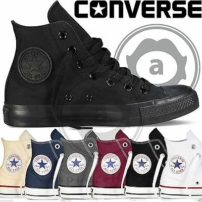 Converse All Star Hi Tops Unisex Canvas Trainers
