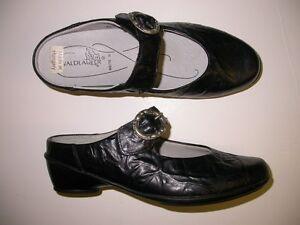 besondere Auswahl an Ausverkauf 100% authentisch Details about Waldlaufer Haifa Black Slide Mary Jane Shoe 6.5