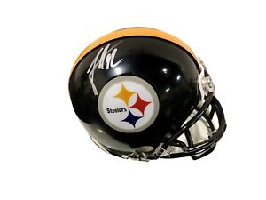59d9a0a0b44 Image is loading James-Harrison-Pittsburgh-Steelers-Signed-Mini-Helmet-JSA