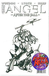 ANGEL-3-AFTER-THE-FALL-FRANCO-B-amp-W-SKETCH-VARIANT-COVER-IDW-COMICS