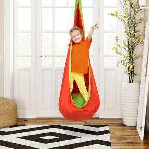 Astounding Details About Child Pod Swing Chair Tent Nook Indoor Outdoor Hanging Seat Hammock Kids Orange Uwap Interior Chair Design Uwaporg