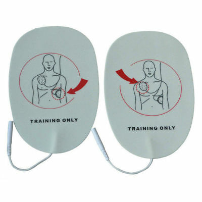 5 Pairs /Pack Adult AED Training Electrode Replacement ...