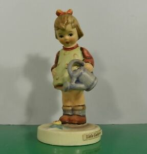 Hummel-Figurine-LITTLE-Gardener-Germany-HUM-74-TMK-3-Girl-with-Watering-Can