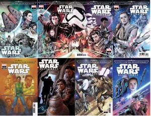 Journey Star Wars Rise Skywalker Allegiance 1 Thru 4 Mini Series Marvel Ebay