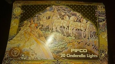 Pifco 20 Cinderella  LightsPat tested in original box  next day delivery PC