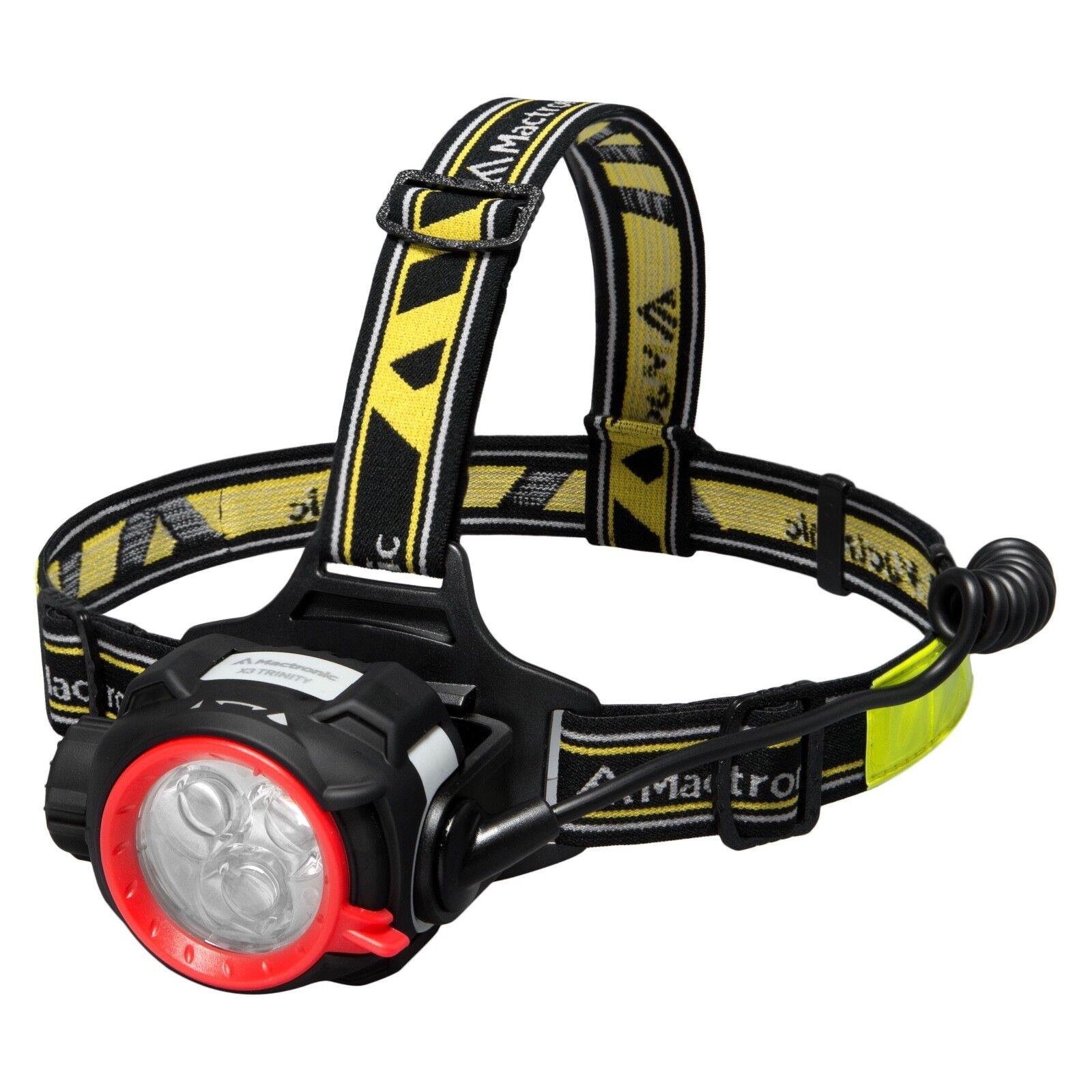 Mactronic LED Stirnlampe X3 Trinity 375lm Outdoor Outdoor Outdoor Kopflampe  | Ausgezeichneter Wert  e3713c