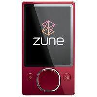 Microsoft Zune 80 MP3 Player