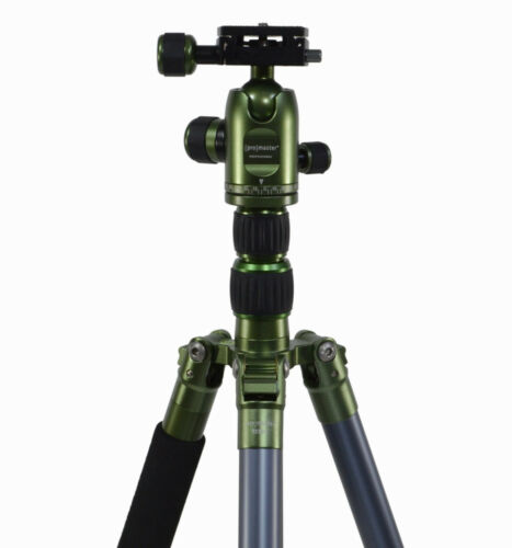 Green #6098 Promaster XC522 Professional Lightweight Tripod w// ball head