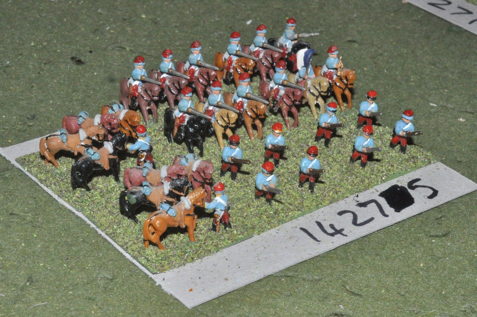 15mm 19th century   franco prussian - cavalry - cav (14275)