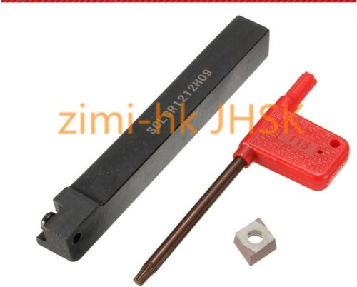 SCLCR1212H09 12x100mm Lathe Turning Tool Holder With 1 CCMT09t3 Insert