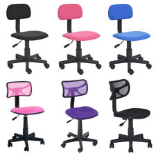 Ergonomic Low Back Office Home Desk Task Swivel Computer Chair Child Mesh Colors
