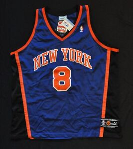 the best attitude fb7c4 95551 Details about LATRELL SPREWELL NEW YORK KNICKS JERSEY PUMA AUTHENTIC BLUE  52 XL NWT