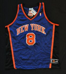 the best attitude 84b08 7c157 Details about LATRELL SPREWELL NEW YORK KNICKS JERSEY PUMA AUTHENTIC BLUE  52 XL NWT