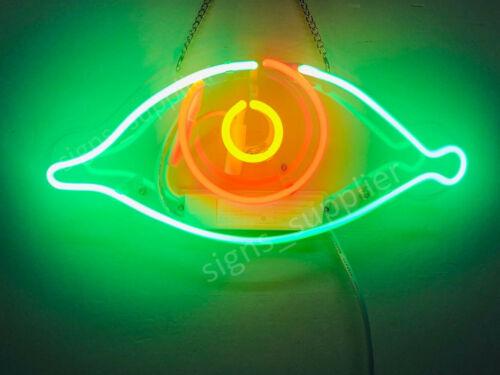 """New Eye Real Glass Bedroom Gift Acrylic Neon Light Sign 14/""""x10/"""""""