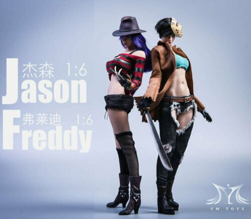 YMTOYS 1//6 YMT034 Jason/&YMT035 Freddy Women/'s Clothing Head Kits Accessories New