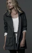 NWT *SOLD OUT* $475 M L JAMES PERSE 4 Lined Parka Rain Coat Jacket ANORAK GREY
