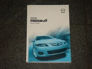 Amazing Image Is Loading 2008 Mazda 6 Mazda6 Owners Manual 2