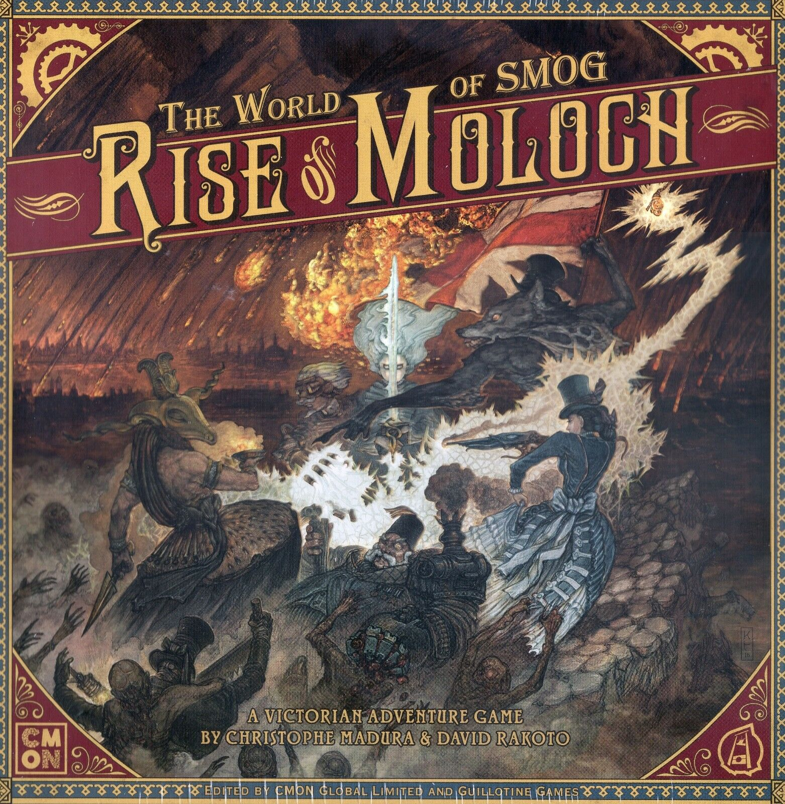 CMON The World of SMOG Rise of Moloch Core game New shrinkwrap