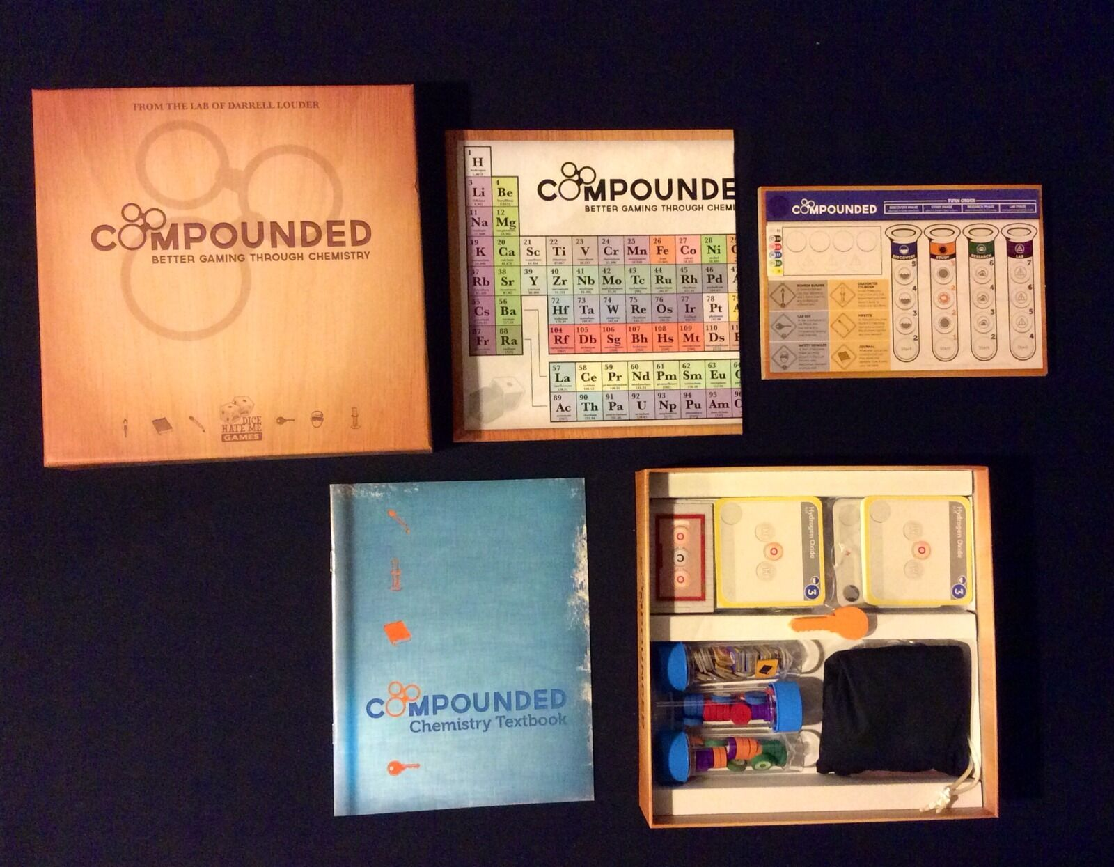 COMPOUNDED  Better Gaming Through Chemistry - Complete Game