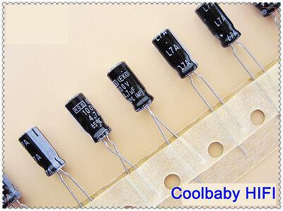 US Stock 50pcs Electrolytic Capacitors 4.7uF 4.7mfd 100V 105℃ Radial 5 x 11mm