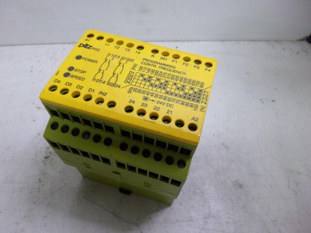 PILZ - SAFETY RELAY SPEED & STANDSTILL MONITOR  - PDZ 24DC 2S20 - 774400
