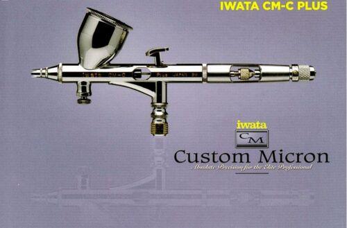 ANEST IWATA CM-CP2 Custom Micron Airbrush CM-CP Model CM-C Plus 2 Japan NEW