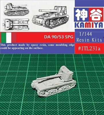 KAMIYA 1//144 WWII German Jagdpanzer IV Tank Destroyer Resin Kit #GER100B