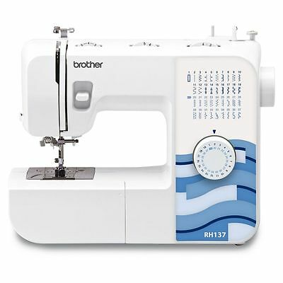 Brand New Brother RH137 Compact Free Arm Sewing Machine With 37 Stitch Options