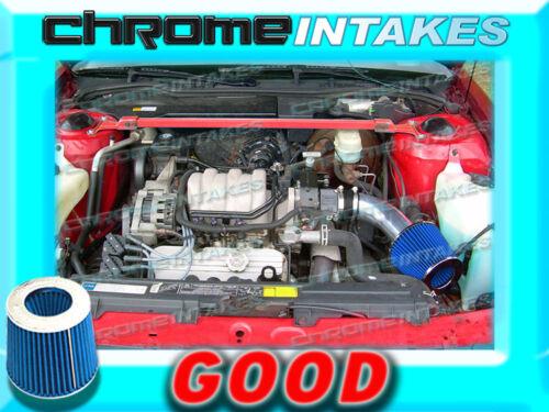 BLACK BLUE 1991 1992 1993-1995 BUICK PARK AVENUE AVE 3.8 3.8L V6 AIR INTAKE KIT