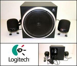 LOGITECH-Z-340-2-1-Speaker-System-Active-Subwoofer-For-Gaming-Computer-PC