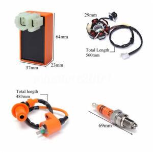 6-pin-Racing-CDI-Unit-6-coil-Magneto-Stator-amp-Spark-Plug-for-GY6-125cc-150cc-ATV