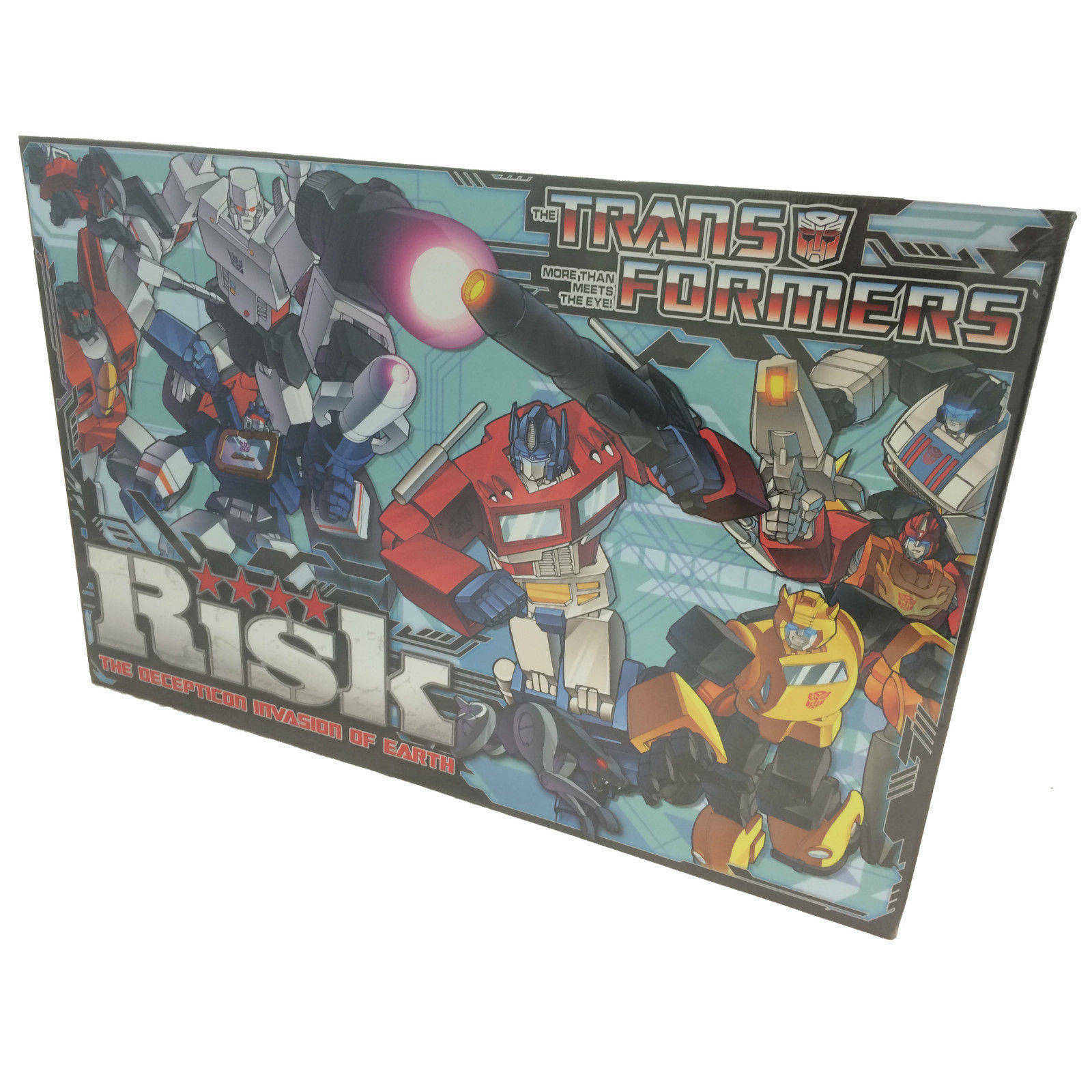 Risk Transformers, Decepticon Invasión Of Earth Edición por Hasbro
