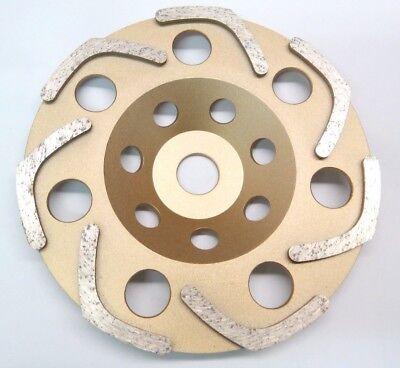 Topfscheibe Betonschleifer Neu 3 x Diamant-Schleiftopf Schleifteller 125 mm